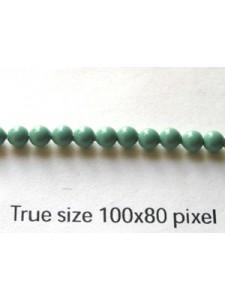 Swar Round Pearl  3mm Round Jade