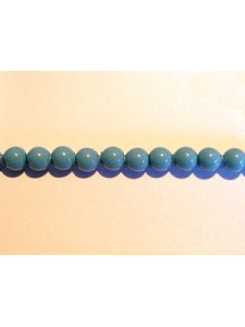 Swar Round Pearl  3mm Round Turquoise