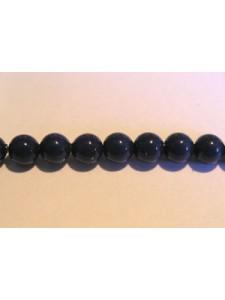 Swar Pearl  4mm Round Dark Lapis