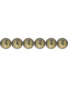 Swar Pearl 5mm Antique Brass