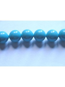 Swar Pearl  6mm Round Turquoise