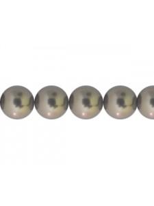 Swar Pearl 7mm Crystal Brown