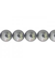 Swar Pearl 7mm Dark Grey