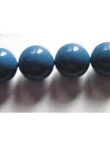 Swar Pearl  10mm Round Lapis