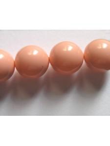 Swar Pearl  10mm Round Pink Coral