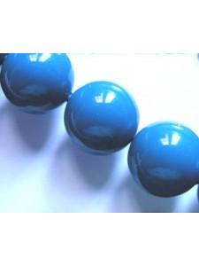 Swar Pearl  12mm Round Lapis