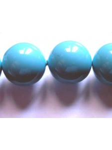 Swar Pearl  12mm Round Turquoise