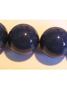 Swar Pearl  14mm Round Dark Lapis