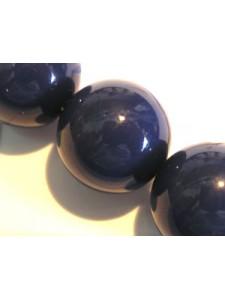 Swar Pearl  16mm Round Dark Lapis
