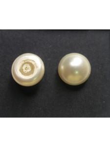 Swar Half-Pearl 10mm Cream