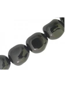 Swar Baroque Pearl 10mm Mystic Black