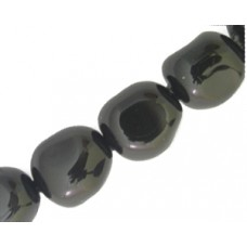 Swar Baroque Pearl 10mm Mystic Black