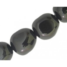Swar Baroque Pearl 12mm Mystic Black