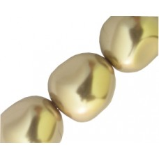 Swar Baroque Pearl 14mm Bronze