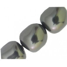 Swar Baroque Pearl 14mm Jet Black