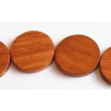 Bayong Wood Flat Round 4x20mm 16in Str