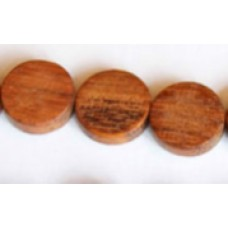 Bayong Bead Flat Round 4x15mm 16in str