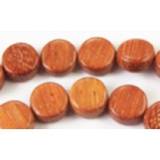 Bayong Bead Flat Round 4x10mm 16in str