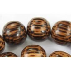 Patikan Wood Bead 15mm Round 16in strand