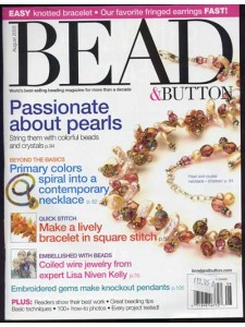 Bead and Button August 2005