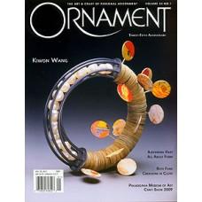 Ornament Magazine Vol 33  No.1 Nov 09