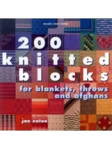 200 Knitted Blocks-  Jan Eaton
