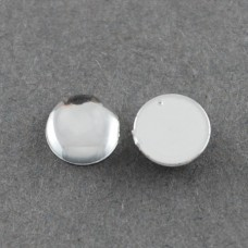 Cabochon 3mm Smooth Clear - 250 pcs