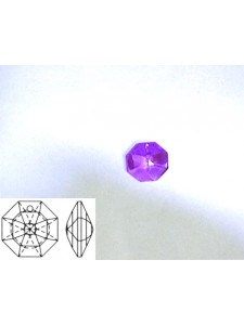 Lilly 14mm 1 hole Blue Violet