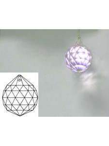 Sphere 30mm Light Rose