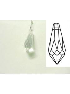 Pendulum 38x16mm Clear
