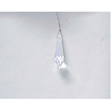 Icicle 40x11mm Clear