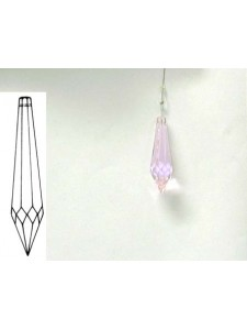 Icicle 40mm Light Rose