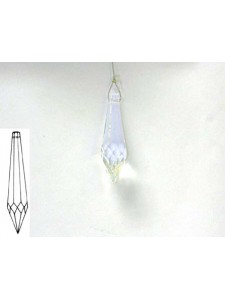 Icicle 50x14mm Clear