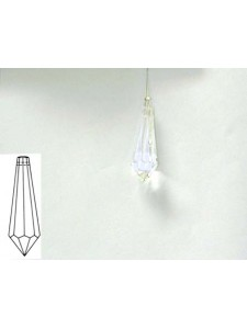Icicle C 38x14 mm Clear