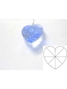 Heart 28mm Light Sapphire