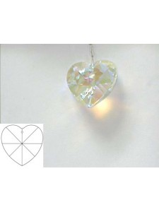 Heart 40mm Clear AB