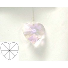 Heart 40mm Light Rose