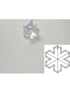 Snowflake 30mm Clear