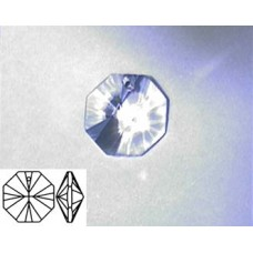 Octagon 14mm Clear 1 hole Alt. Quality