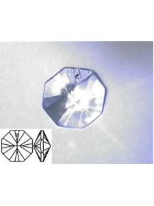 Octagon 16mm Clear - Single hole Alt Q