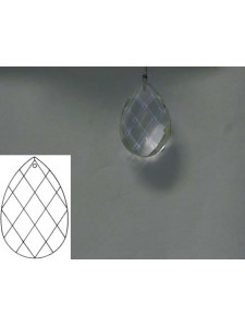 Square Teardrop 38mm Clear Alter.Quality