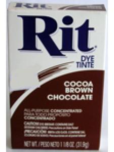 Rit Dye Powder 31.9gram Cocoa Brown