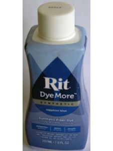 Rit Dye More Synthetic Sapphire Blue
