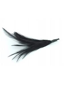 Feather Cock Hackle Black 20pcs