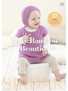 Book Sirdar #500 Baby Bamboo Beauties