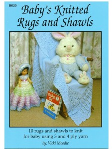 Booklet Heirloom Baby KTD Rugs & Shawls