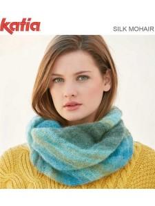 Katia Silk Mohair Scarf Pattern
