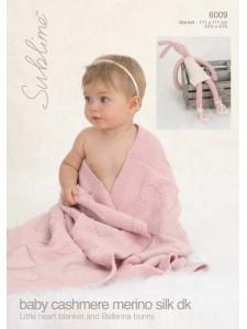 Leaflet Sublime #6009 Cash Mer Silk DK
