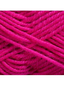 Woolly 65% Wool 35% Acr 50g Hot Pink