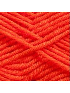 Woolly 65% Wool 35% Acr 50g Orange